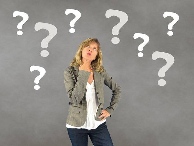 Woman Question Mark Person - Free photo on Pixabay (356617)
