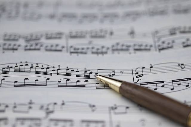 Sheet Music Clef - Free photo on Pixabay (356831)
