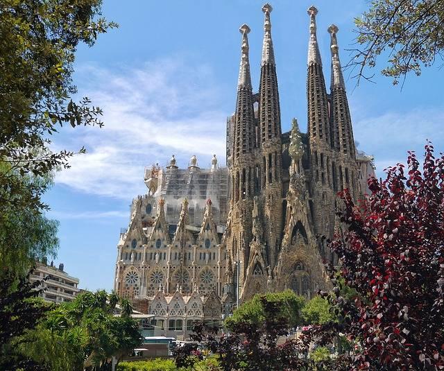Sagrada Familia Cathedral - Free photo on Pixabay (356836)