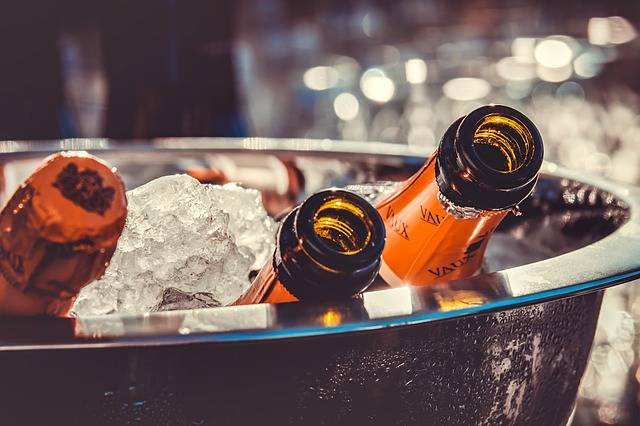 Champagne Bottles Ice - Free photo on Pixabay (356974)