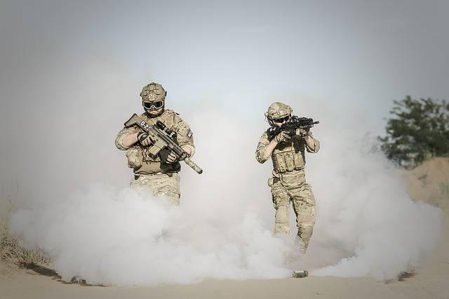 War Desert Guns - Free photo on Pixabay (357710)