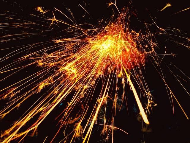 Sparks Dazzle Brilliant - Free photo on Pixabay (358962)
