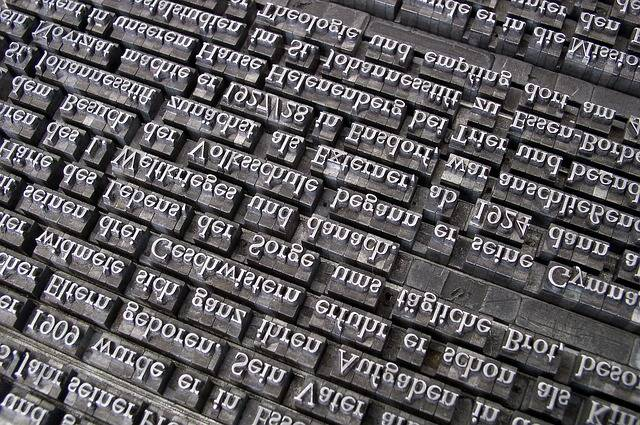 Font Lead Set Book Printing - Free photo on Pixabay (359120)