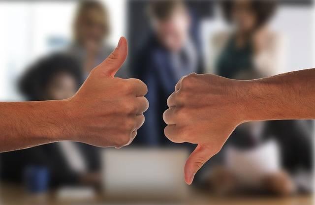 Opposites Thumb Positive - Free photo on Pixabay (359914)