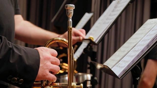 Trumpet Music Stand Brass - Free photo on Pixabay (359917)