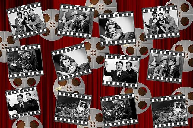 Movies Black And White Stars - Free image on Pixabay (360366)