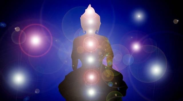 Wallpaper Buddha Chakras - Free image on Pixabay (360834)