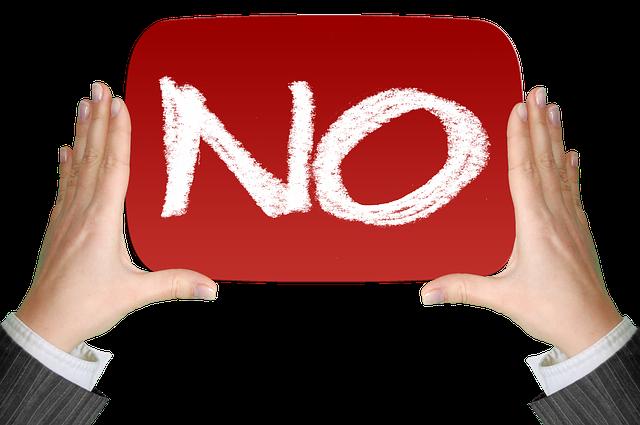 No Negative Finger - Free image on Pixabay (361766)