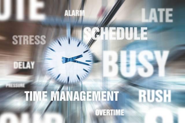 Hurry Stress Time Management - Free image on Pixabay (363412)