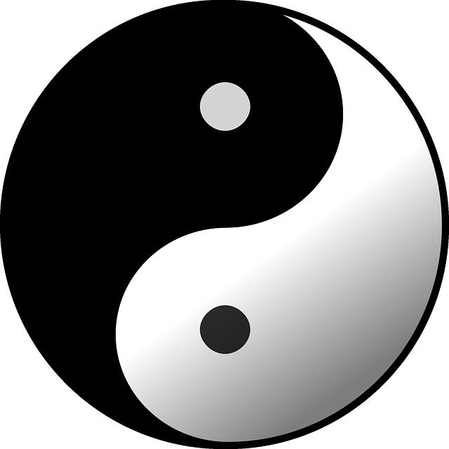 Taijitu Yin Yang - Free vector graphic on Pixabay (364484)