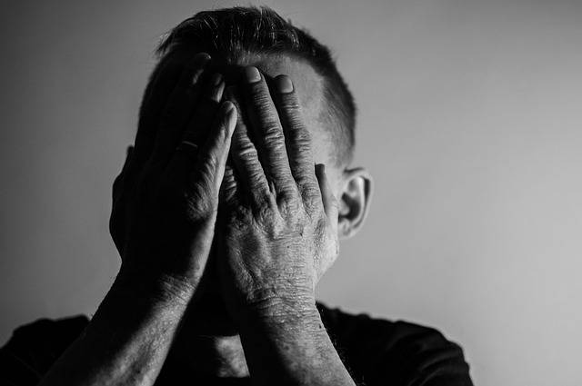 Depression Sadness Man I Feel - Free photo on Pixabay (365837)