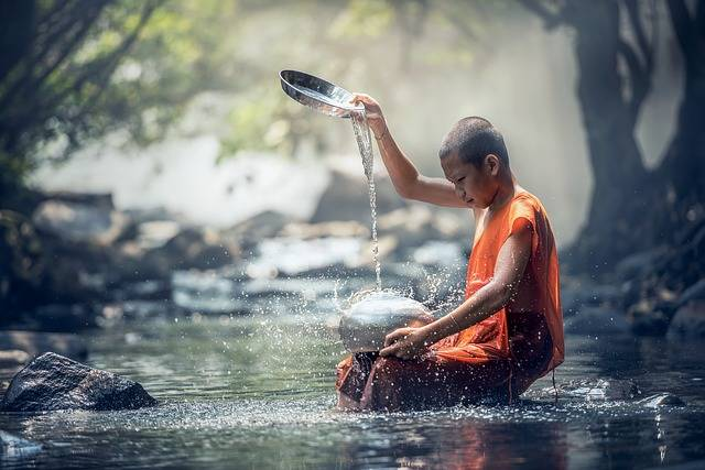 Buddhist Ritual Water - Free photo on Pixabay (365869)