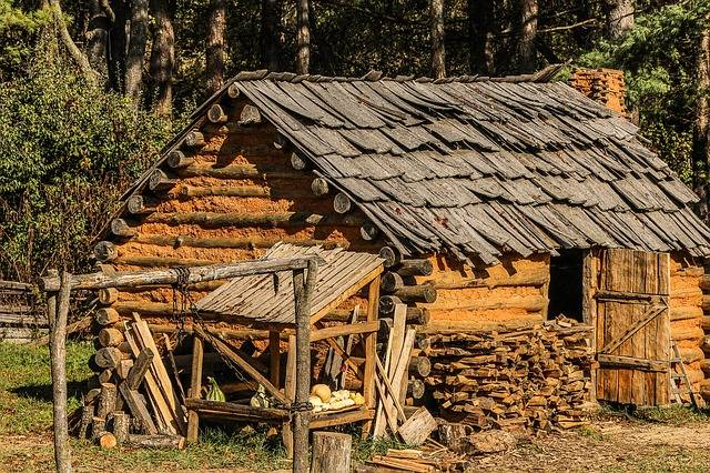 Hut Cabin Settlers - Free photo on Pixabay (366521)