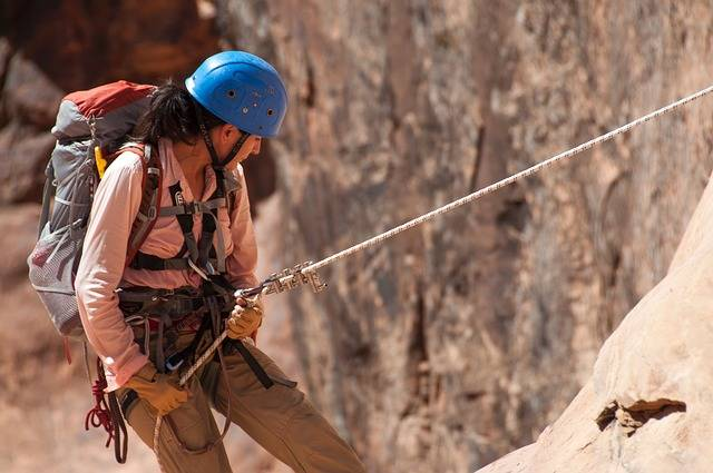 Climbing Rappelling Canyoneering - Free photo on Pixabay (366936)