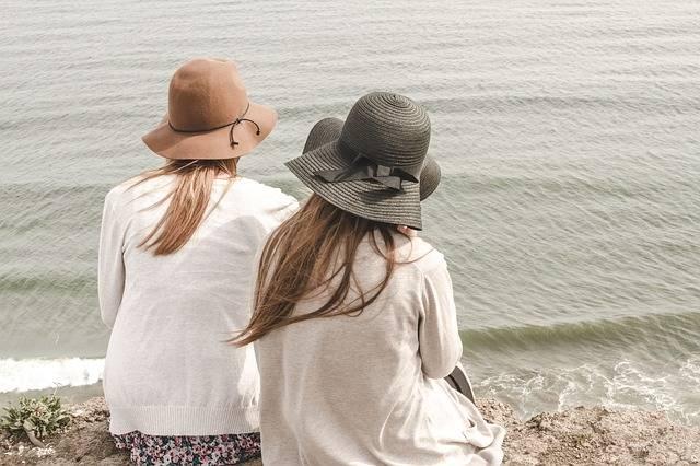 Beach Hats Ocean - Free photo on Pixabay (367252)