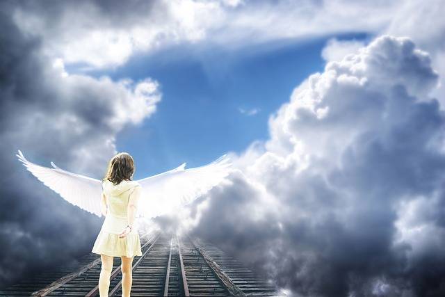 Angel Sky Clouds - Free photo on Pixabay (367459)