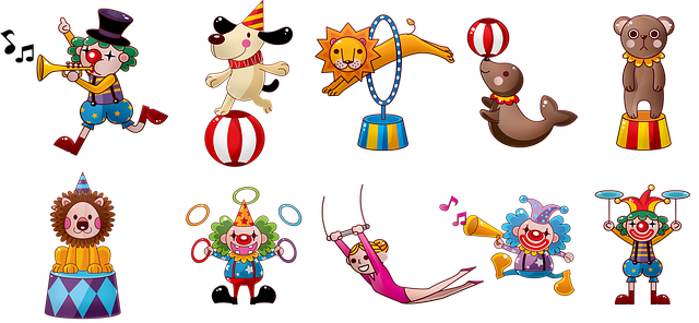 Circus Clowns Carnival - Free image on Pixabay (368985)
