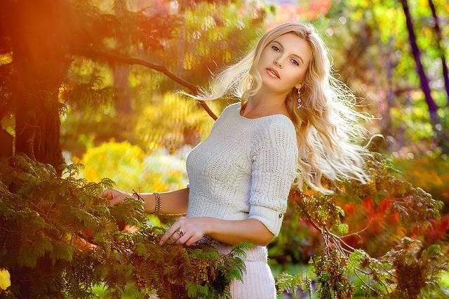 Thoughtfulness Girl Walk Golden - Free photo on Pixabay (371222)