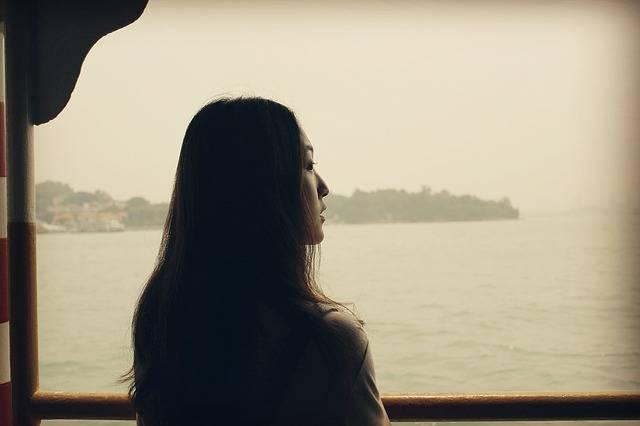 Looking Forward To Sea Woman - Free photo on Pixabay (371225)