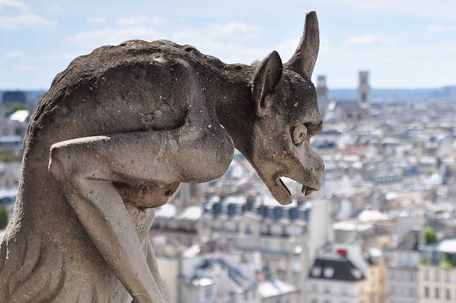 Statue Gargoyle Notre Dame - Free photo on Pixabay (371907)