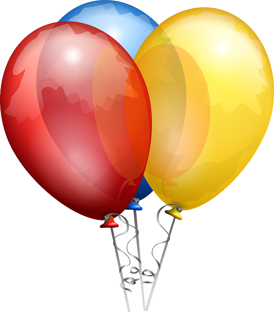 Balloons Red Blue - Free vector graphic on Pixabay (372971)