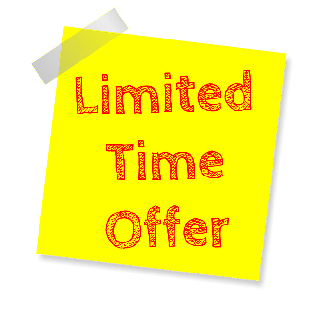 Limited Time Offer Deal Of The Day - Free image on Pixabay (372983)