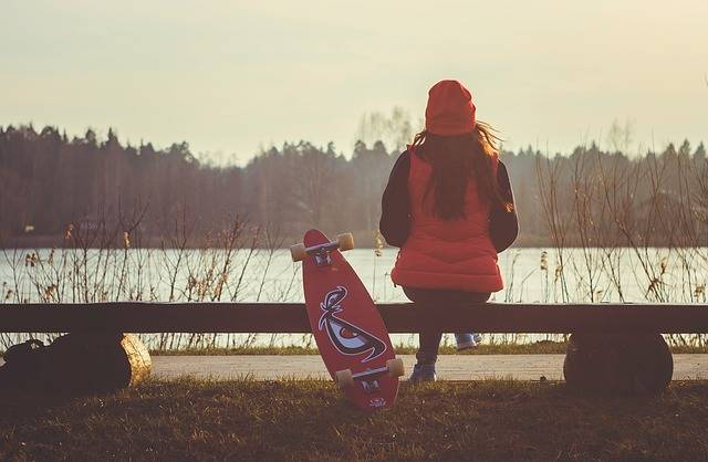 Girl Longboard Break - Free photo on Pixabay (373596)