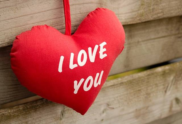 I Love You Red Wood - Free photo on Pixabay (373716)