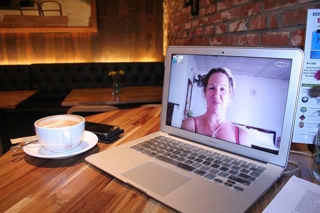 Skype Woman Computer - Free photo on Pixabay (373809)