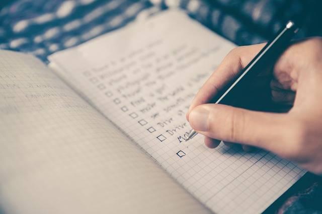 Checklist Goals Box - Free photo on Pixabay (373900)
