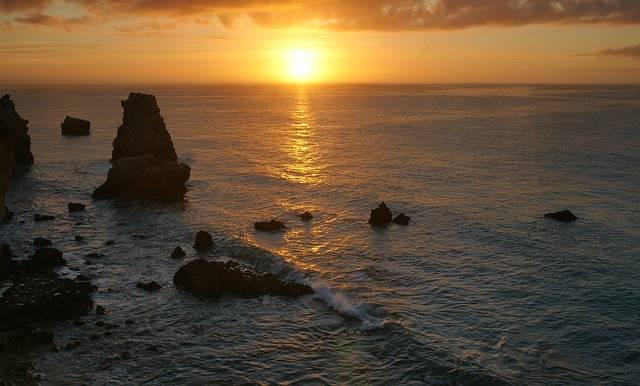 Sunset Water Dusk - Free photo on Pixabay (375100)