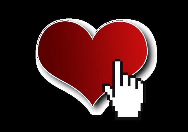 Cursor Click Heart - Free image on Pixabay (375134)