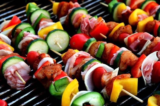 Shish Kebab Meat Skewer Vegetable - Free photo on Pixabay (375188)