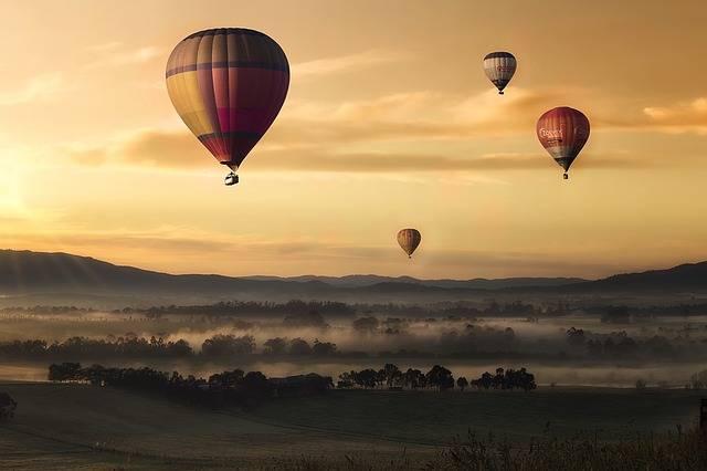 Hot Air Ballons Balloons Flying - Free photo on Pixabay (375494)