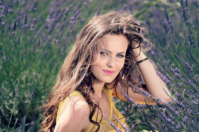 Girl Lavender Flowers - Free photo on Pixabay (377880)
