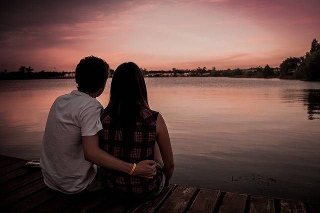 Couple Love Romance Sunset - Free photo on Pixabay (379600)
