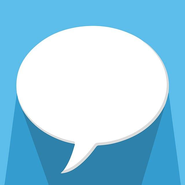Speech Bubble Talking Chat - Free image on Pixabay (379869)