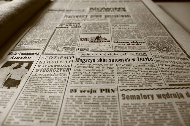 Old Newspaper Retro - Free photo on Pixabay (382178)