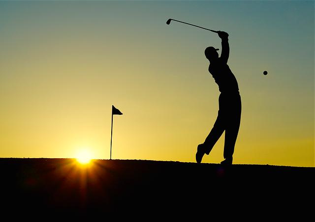 Golf Sunset Sport - Free photo on Pixabay (382276)