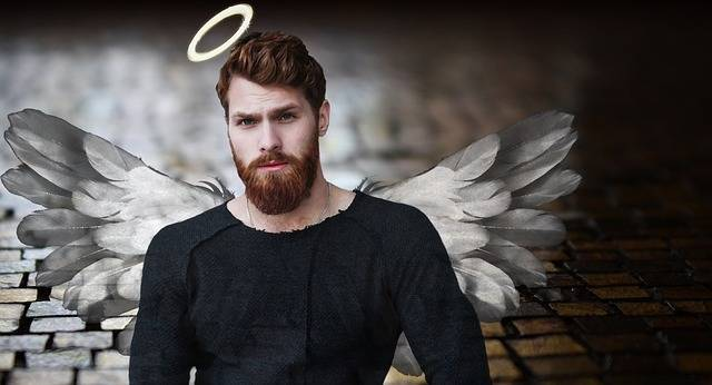 Man Angel Halo - Free photo on Pixabay (382436)