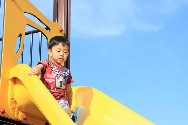 Kids Slide Playground Equipment - Free photo on Pixabay (383688)