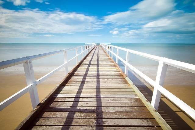 Pier Jetty Ocean - Free photo on Pixabay (384477)