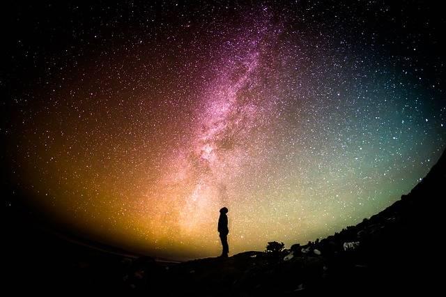Milky Way Universe Person - Free photo on Pixabay (384557)