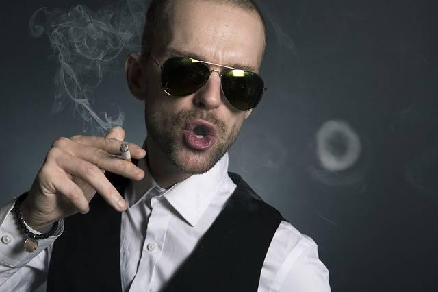 Man Smoking Smoke - Free photo on Pixabay (385058)