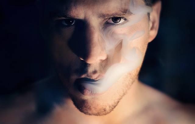 Man Smoke Portrait - Free photo on Pixabay (385128)