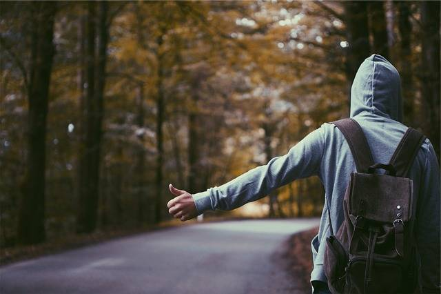Hitchhiker Thumb Hoodie - Free photo on Pixabay (385388)