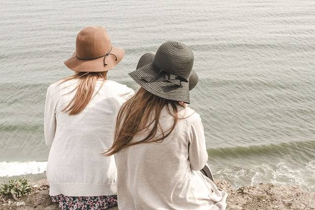 Beach Hats Ocean - Free photo on Pixabay (385568)