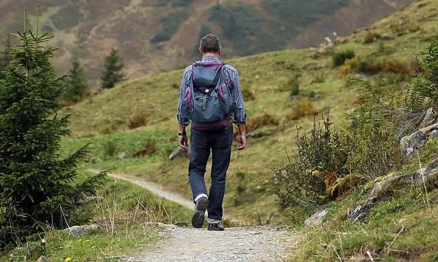 Wanderer Backpack Hike - Free photo on Pixabay (386285)