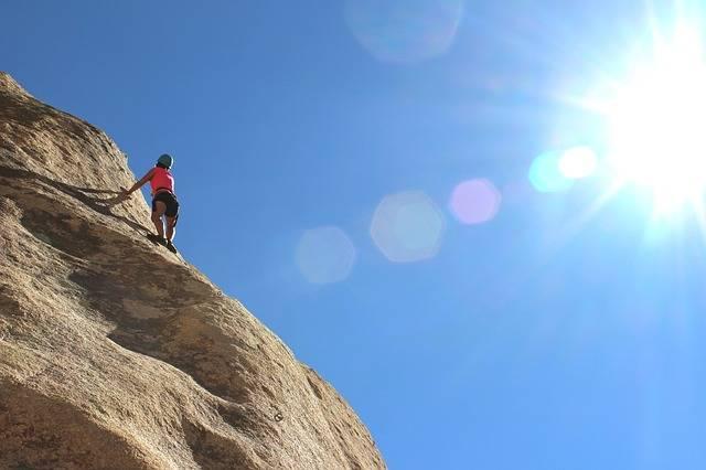 Climber Rock Wall - Free photo on Pixabay (386307)