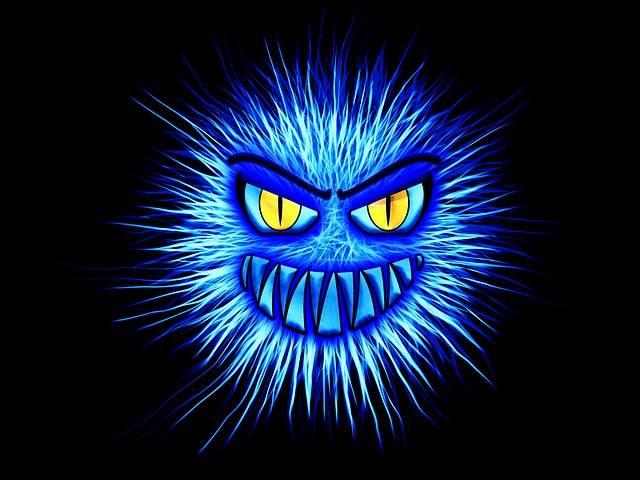 Monster Blue Internet - Free image on Pixabay (386604)